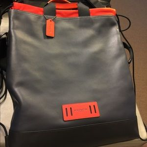 Coach sling /backpack New